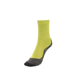 Falke TK2 Socks Children yellow/grey